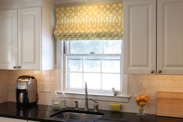 идеи штор для кухни