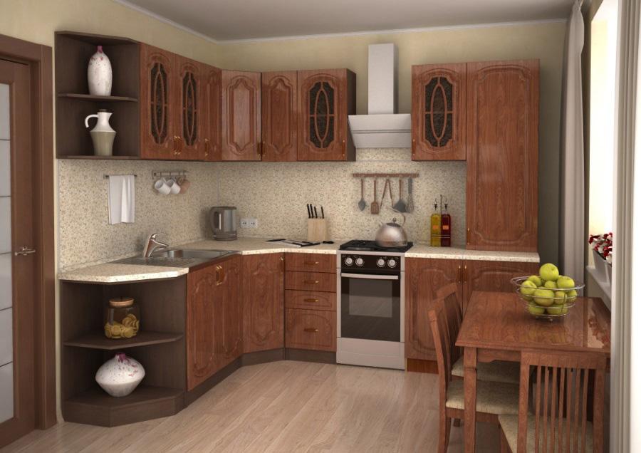 Дизайн кухни эконом класса