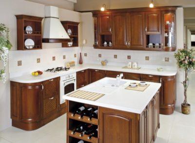 Встраиваемая кухонная мебель