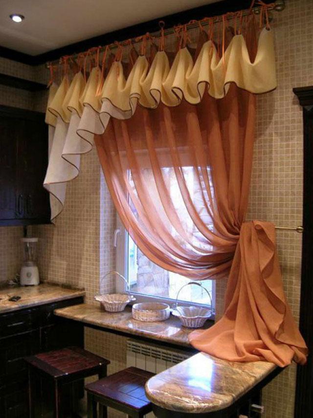 новинки штор для кухни