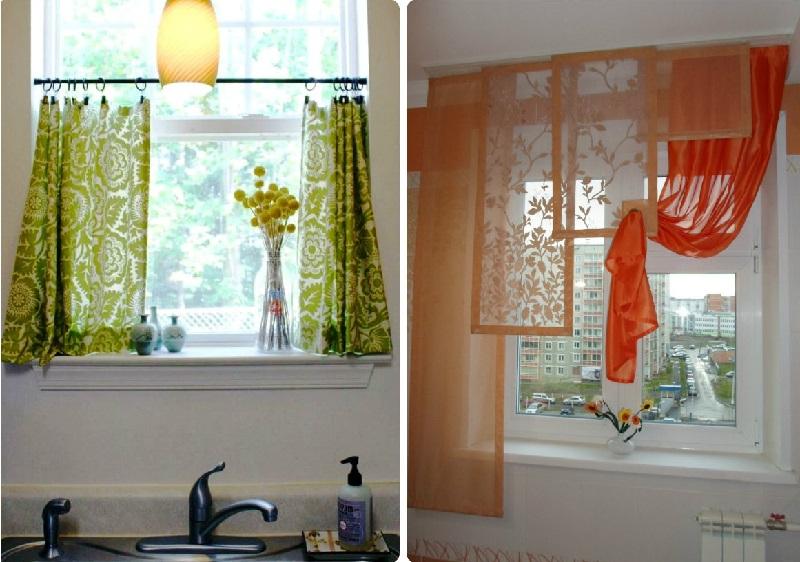 Идеи штор для кухни 80 фото примеров