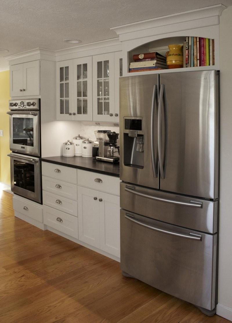 Бытовая техника для кухни: как используется современная техника в стильном интерьере. Обзор лучших девайсов + фото