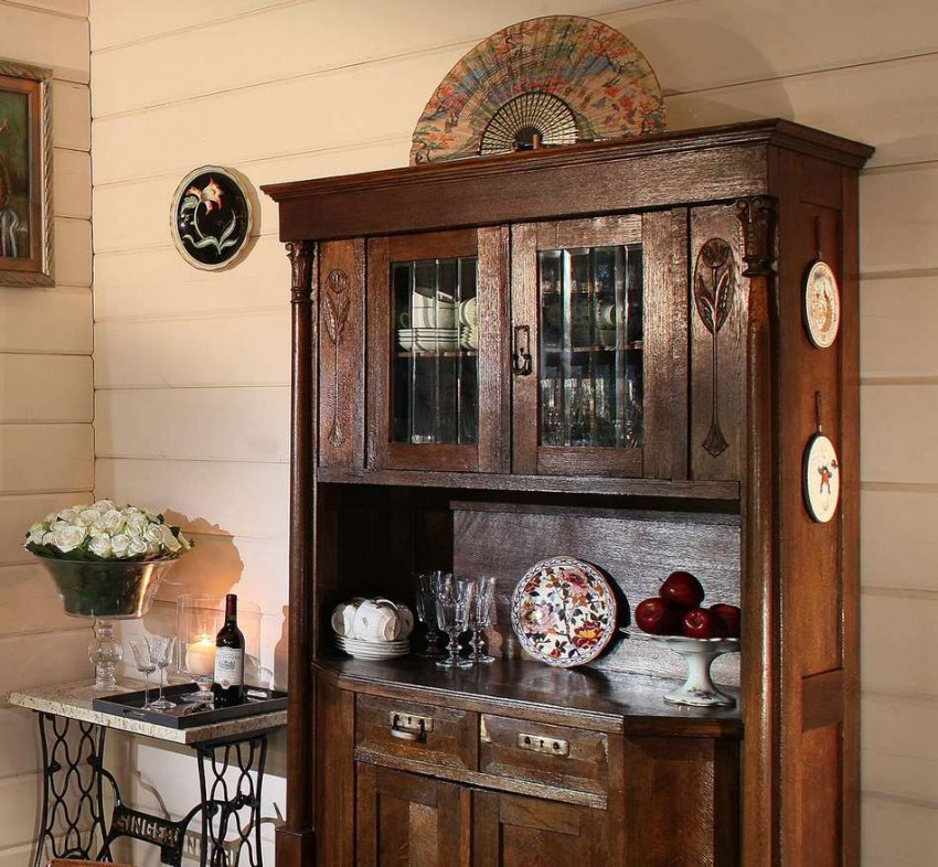 Деревенская кухня - особенности интерьера и оптимальные стили загородного дизайна (120 фото)
