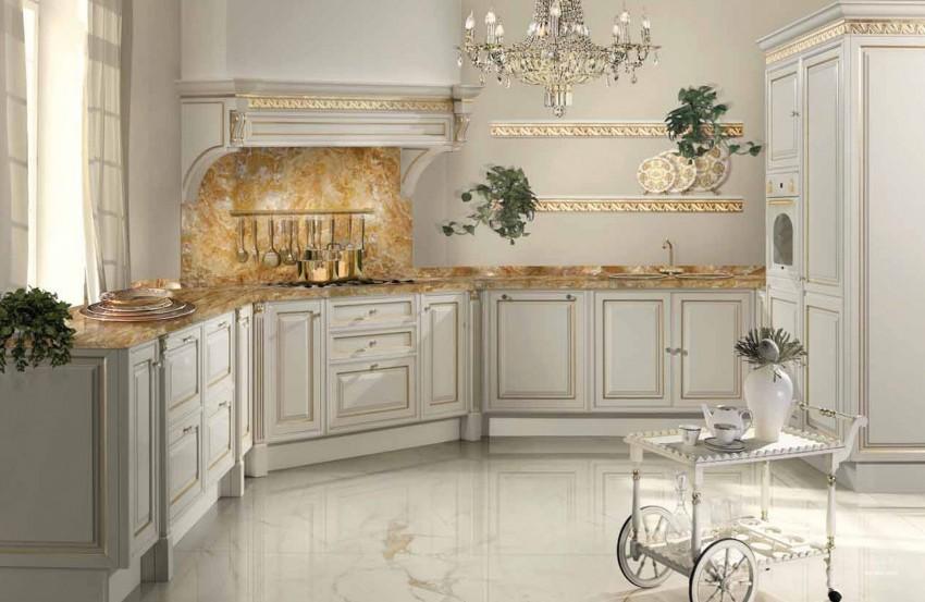 Элитные кухни: особенности проектирования и лучшие варианты индивидуального оформления (100 фото новинок)