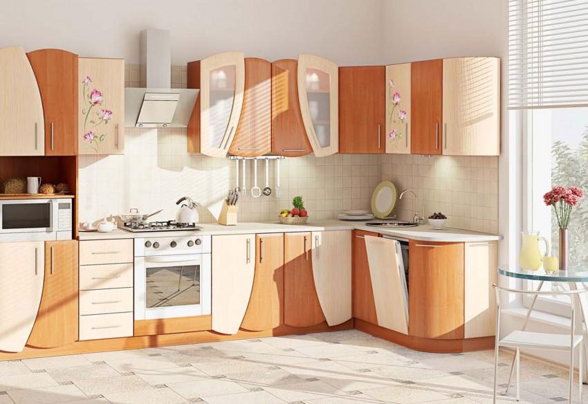 Комбинированные кухни: современный дизайн и варианты украшения (110 фото-идей)