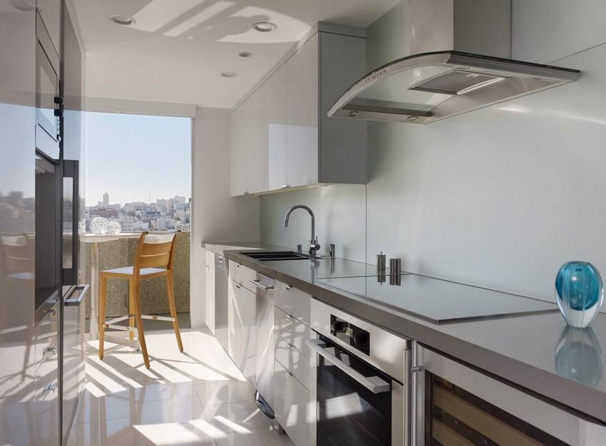 Кухня в стилей Хай-Тек - секреты и особенности современного, эффектного и эффективного стиля (90 фото новинок)