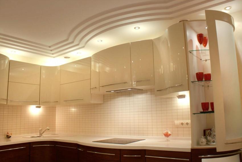 Кухня из гипсокартона: особенности изготовления и советы по подбору дизайна своими руками (фото + инструкция)