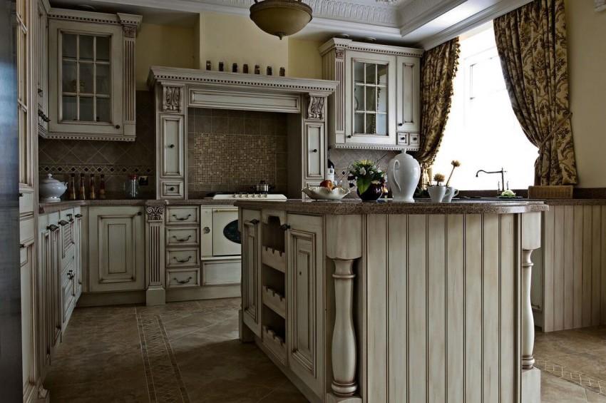 Кухня под дерево - лучшие современные идеи и особенности применения древесины
