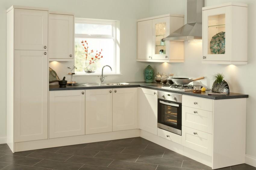 Кухня в светлых тонах: особенности современного оформления и украшения интерьера (80 фото)