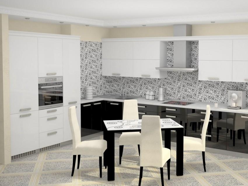 Моющиеся обои для кухни - современные идеи подбора практичных и современных моделей