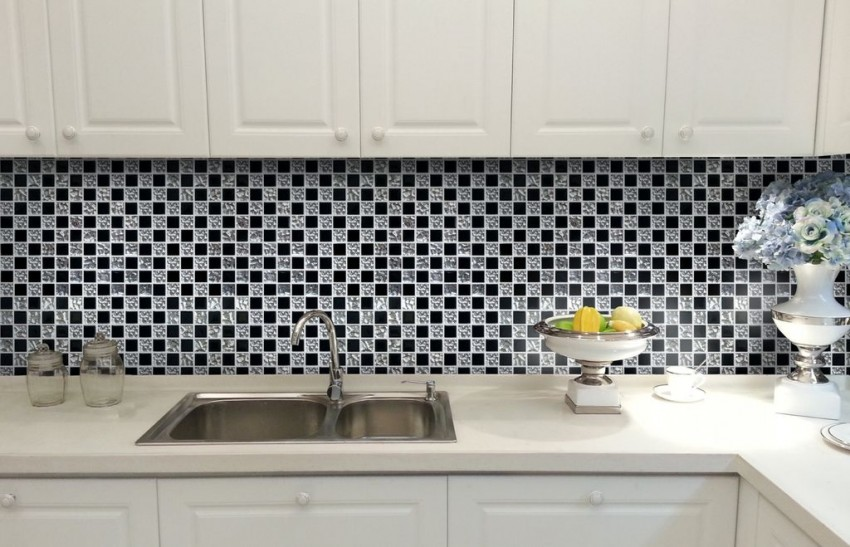 Мозаика для кухни - стильные идеи, преимущества использования и варианты отделки (95 фото)