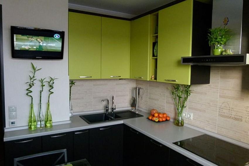 Оливковая кухня - идеи красивого интерьера и секреты удачных сочетаний. 80 фото современного дизайна