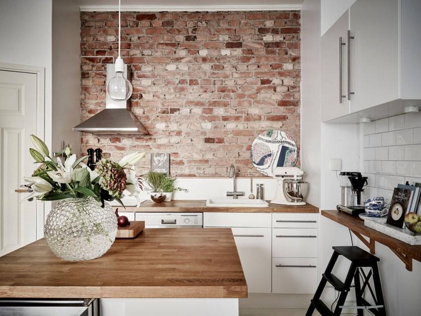 Отделка стен на кухне: варианты оформления и возможные советы по подбору украшения (85 фото)