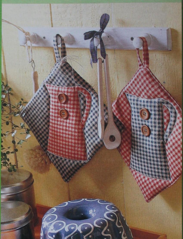 Прихватки для кухни - схемы, выкройки и советы как пошить своими руками (инструкция + фото)