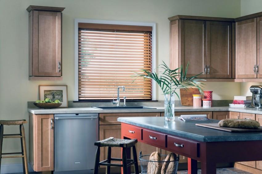 Жалюзи на кухню: современные модели и фото лучших решений для современного интерьера