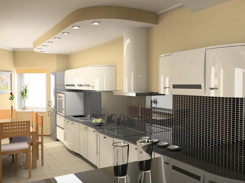 Прямоугольная кухня: особенности современного дизайна. Плюсы и минусы кухонь прямоугольной формы