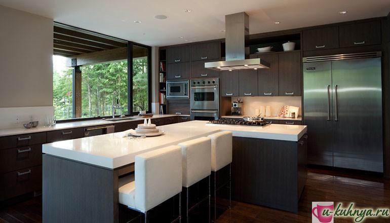 дизайн кухни современный стиль реальные фото