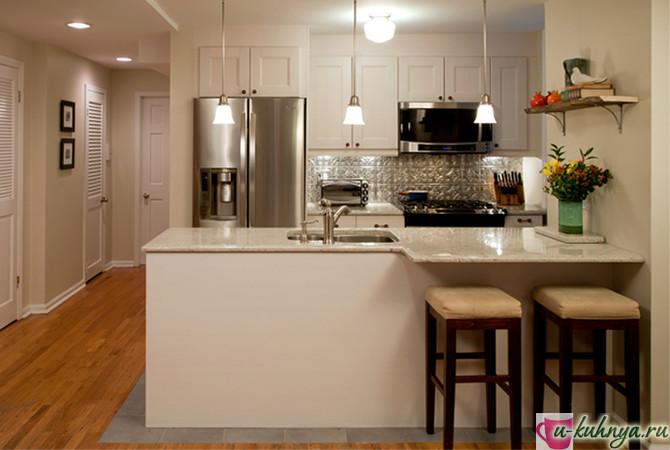кухня в современном стиле нестандартный дизайн