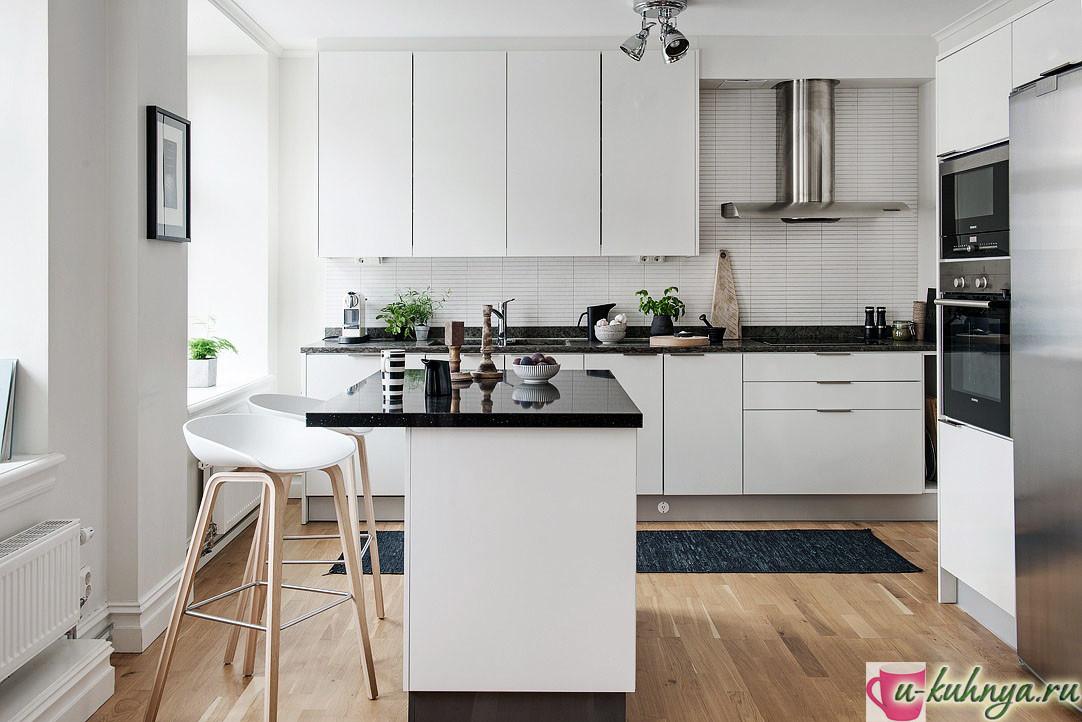 дизайн проект кухни современном стиле