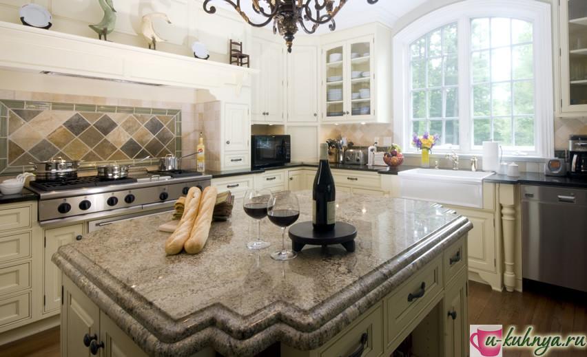 кухня в классическом стиле светлая дизайн
