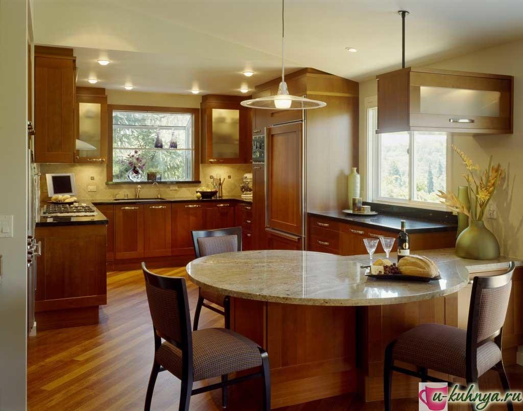 современный дизайн кухни в классическом стиле