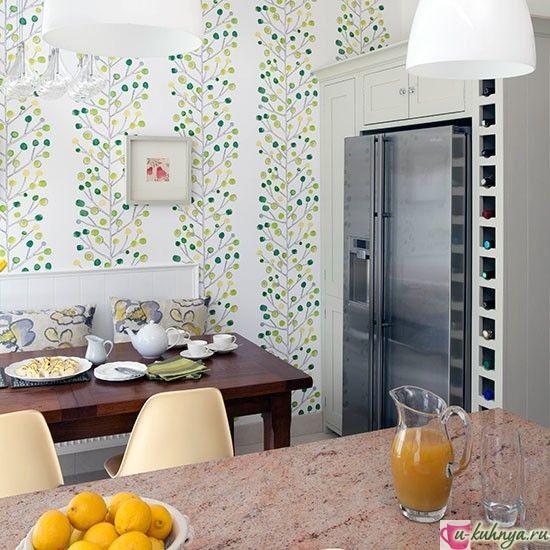 обои для кухни фото современные идеи
