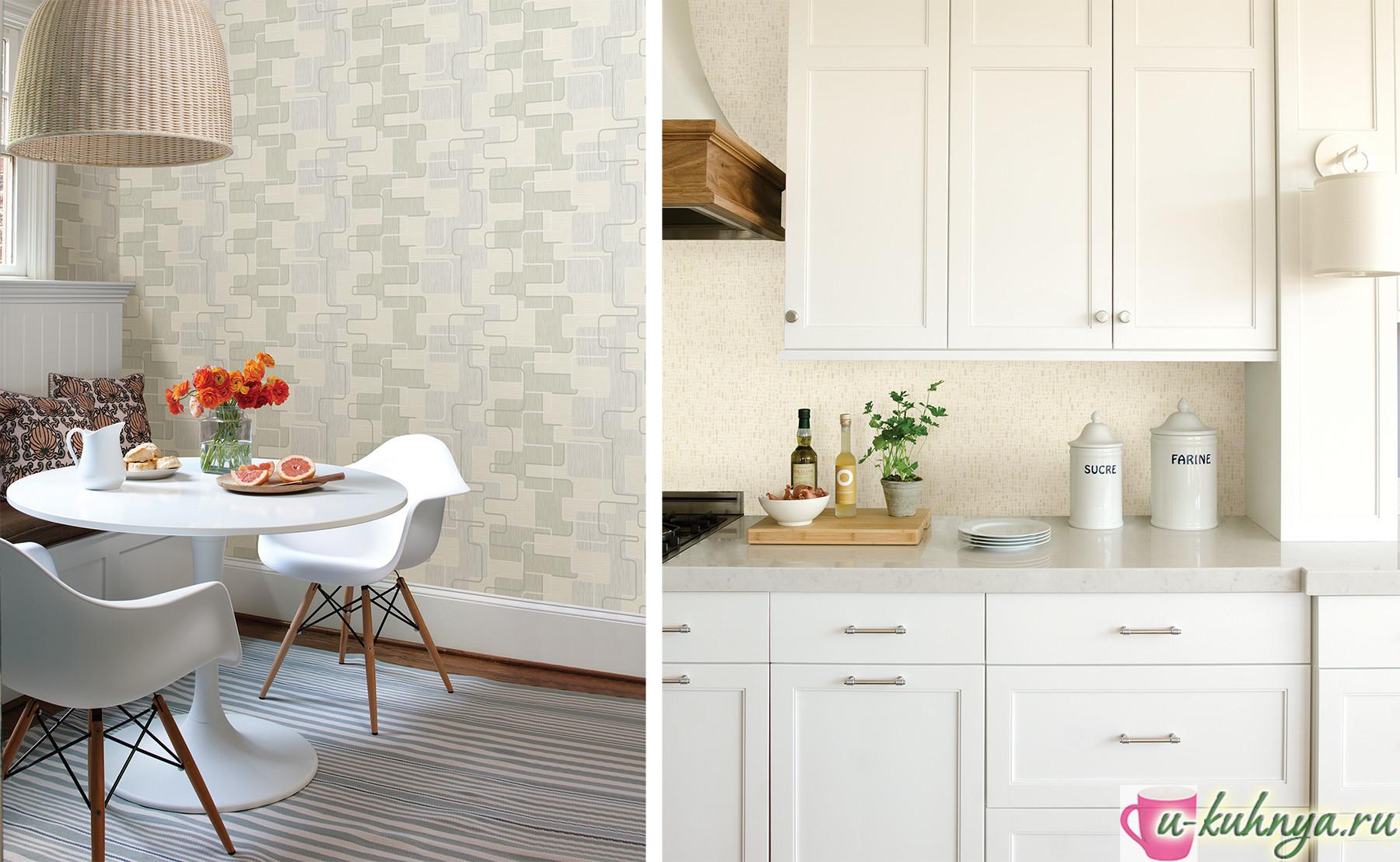 обои на кухню современные фото