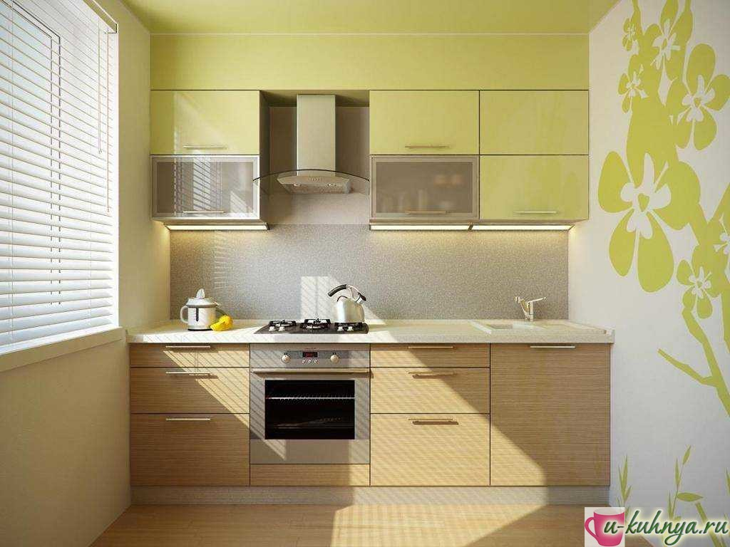 ремонт кухни обои