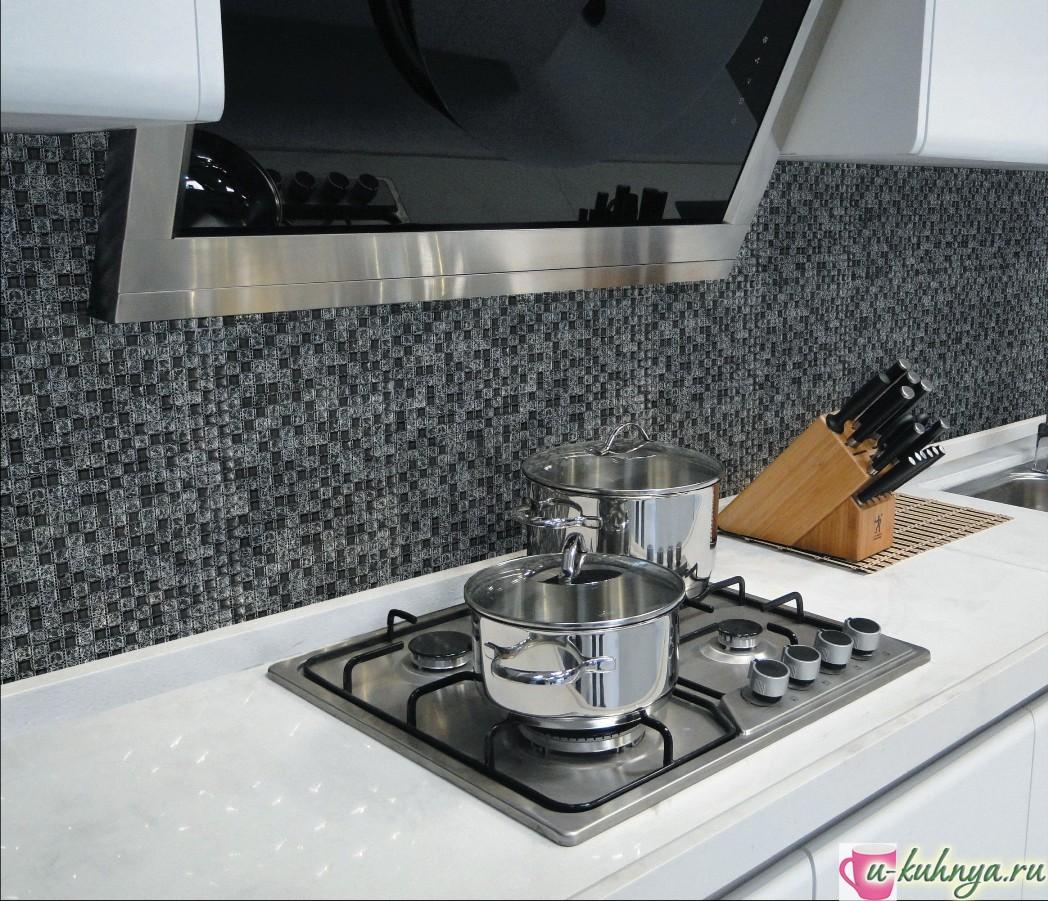 керамическая мозаика для фартука кухни