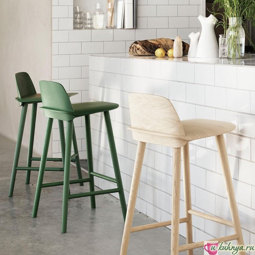 складной барный стул для кухн