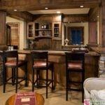 низкие барные стулья для кухни