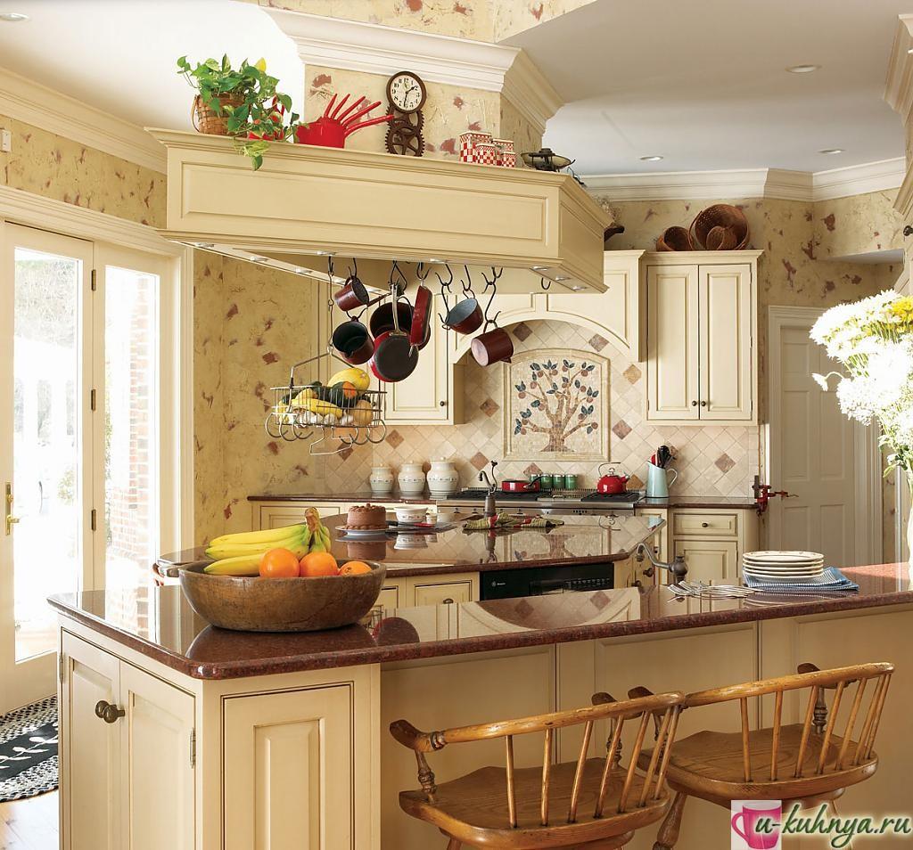 особенности кухни в стиле кантри