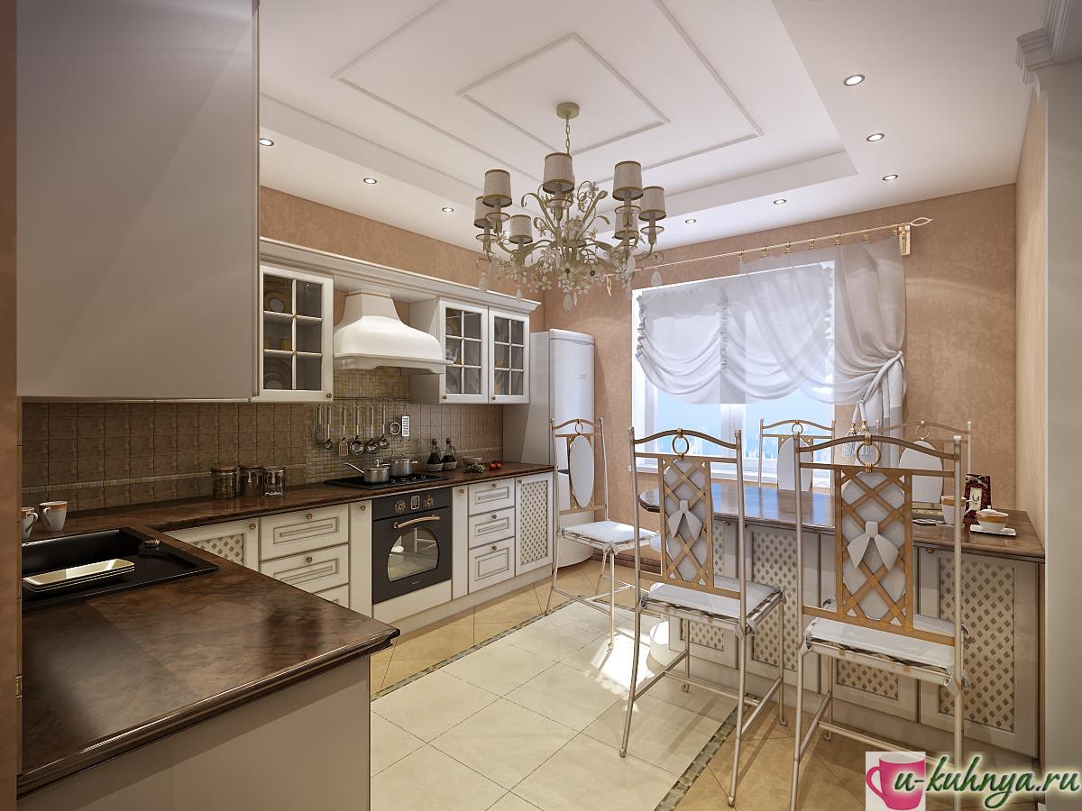 деревянные кухни в стиле кантри