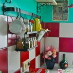 как прикрепить рейлинг на кухне