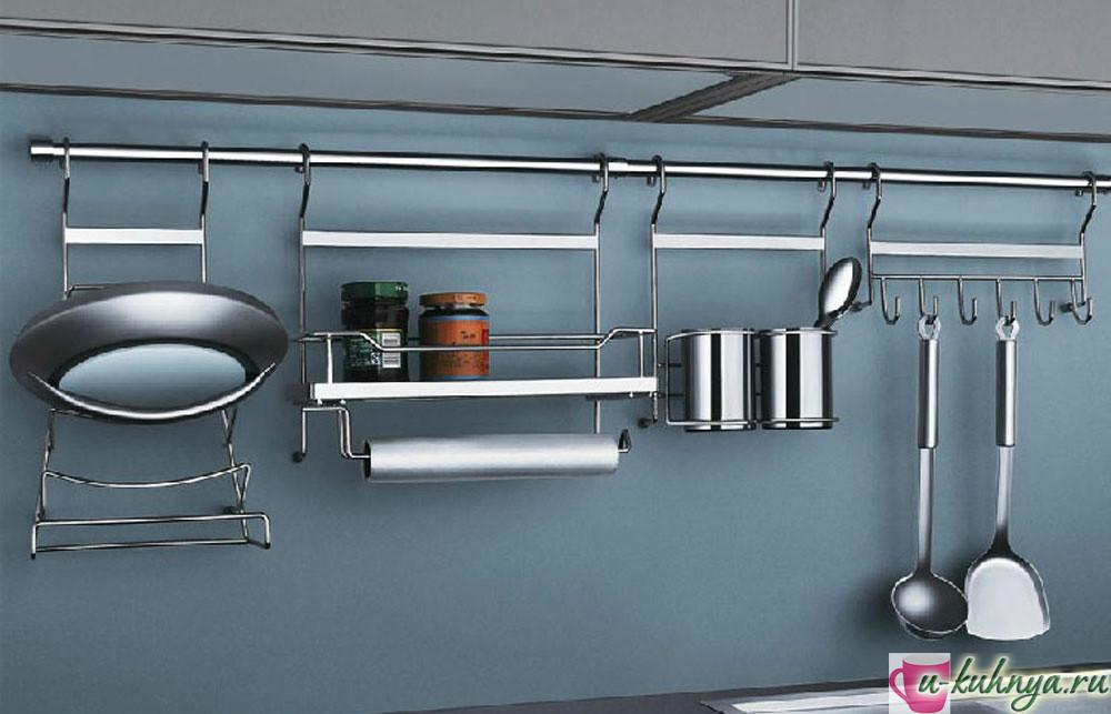 диаметр рейлинга на кухню