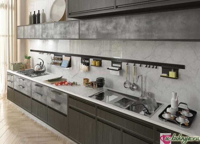 набор рейлингов и предметов для кухни