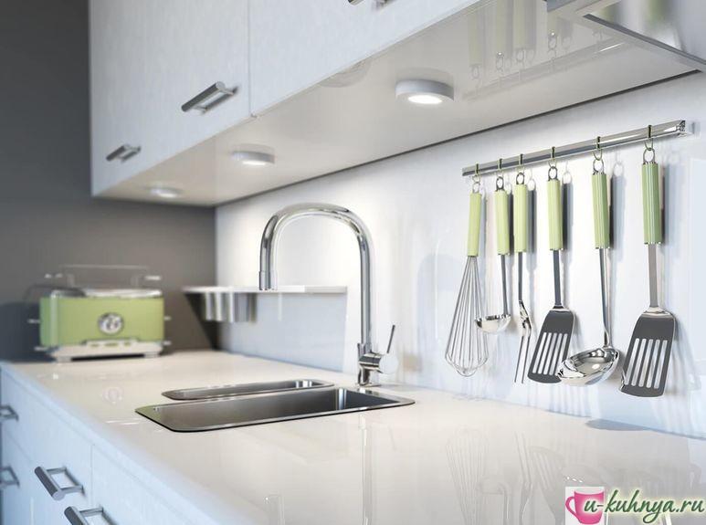 подвесной рейлинг на кухню