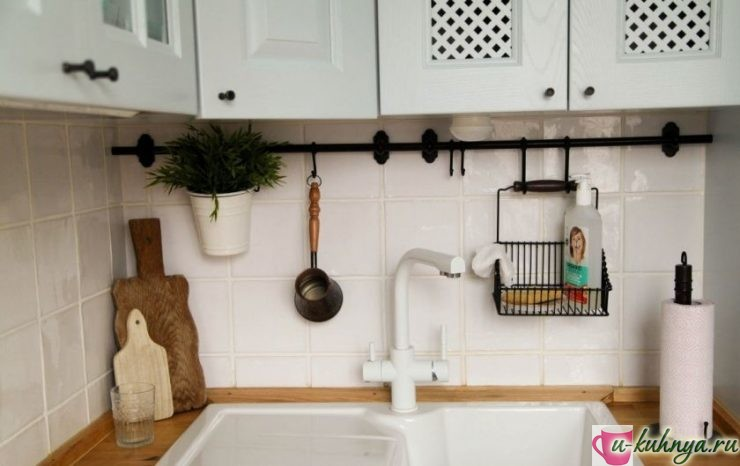 рейлинг на кухню для приборов