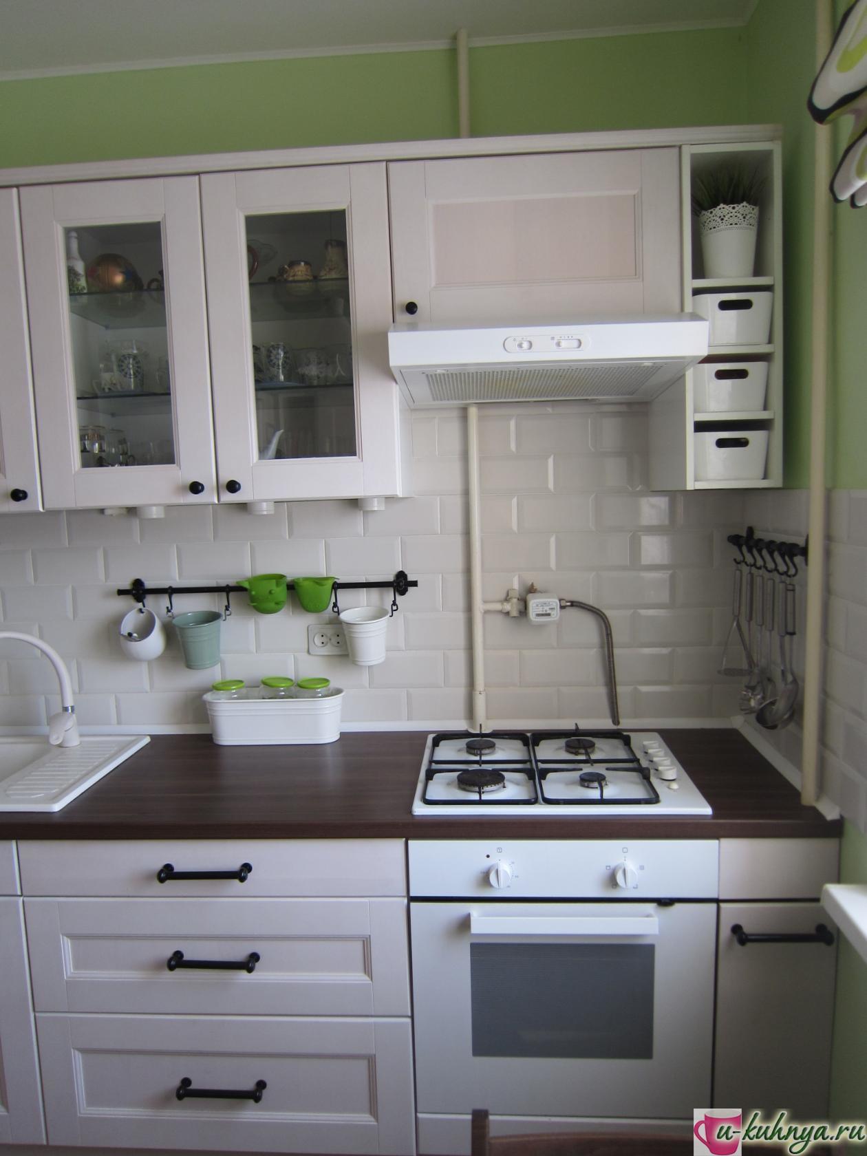 рейлинг на присосках для кухни