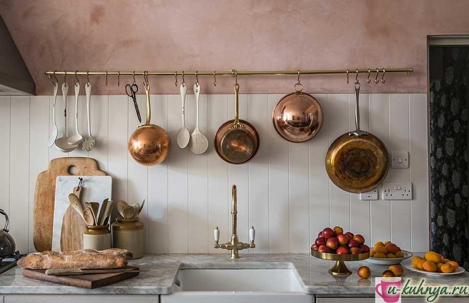 как крепить рейлинги для кухни