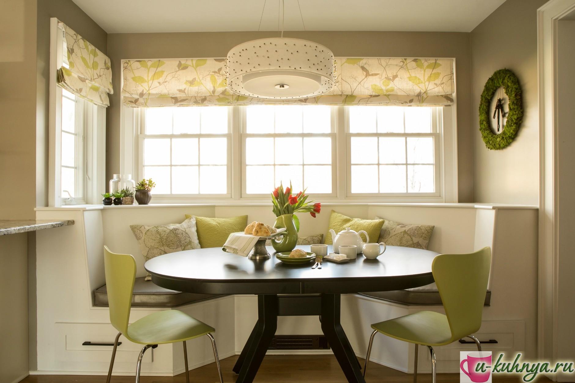 кухня со столовой