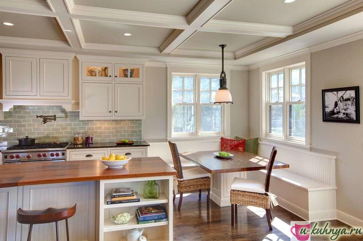 маленькая кухня столовая