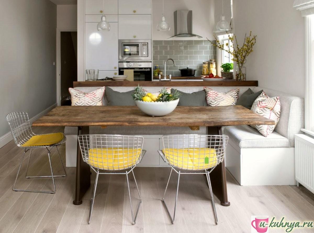 проект кухни столовой