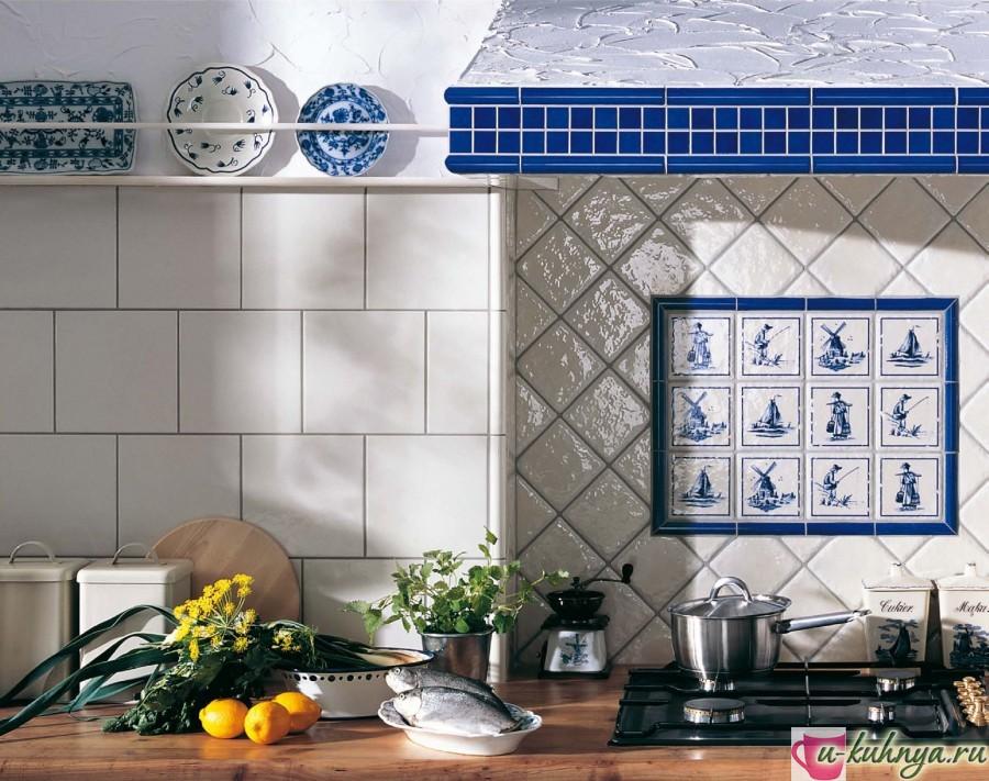 Декоративные украшения керамической облицовки